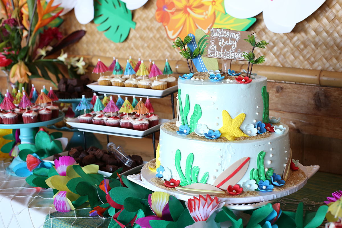 HAWAIIAN BABY SHOWER