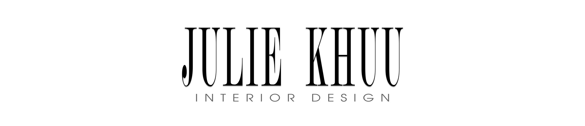 Julie Khuu Interior Design Website and Life and Style Blog